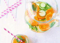 Pretty Citrus, Cucumber & Mint Water