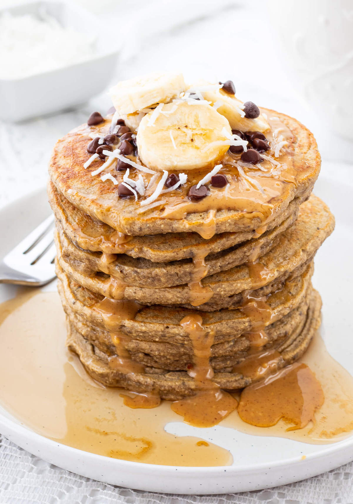 Banana Protein Pancakes Haute Healthy Living