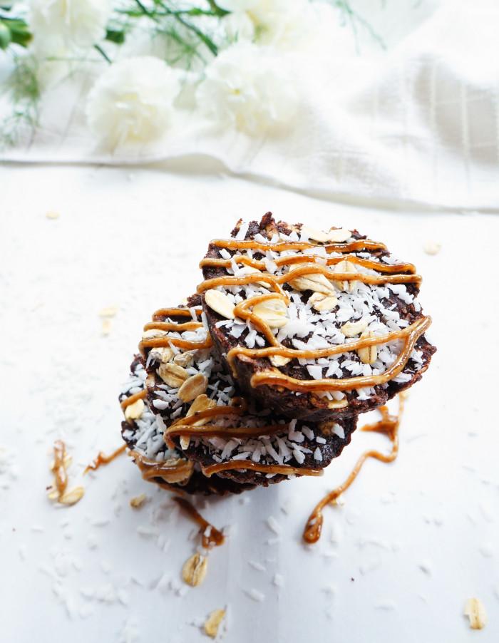 Fudge-y Almond Protein Cups | Haute & Healthy Living
