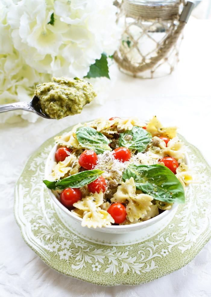 Lentil Pasta Salad 2