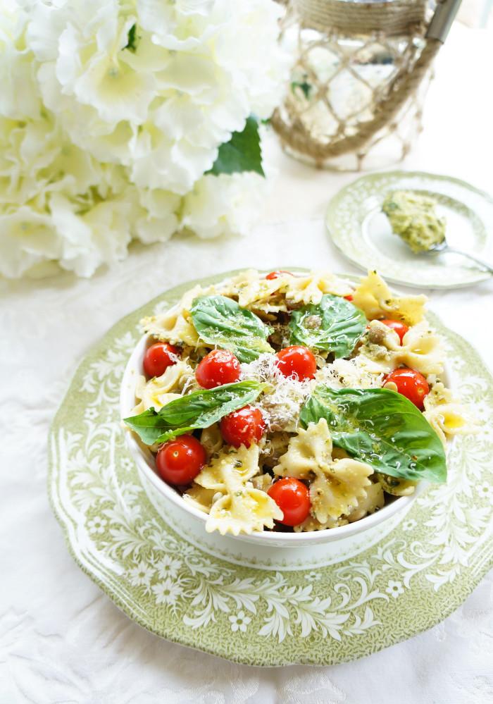 Lentil Pasta Salad1