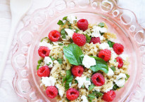 Raspberry Quinoa Salad