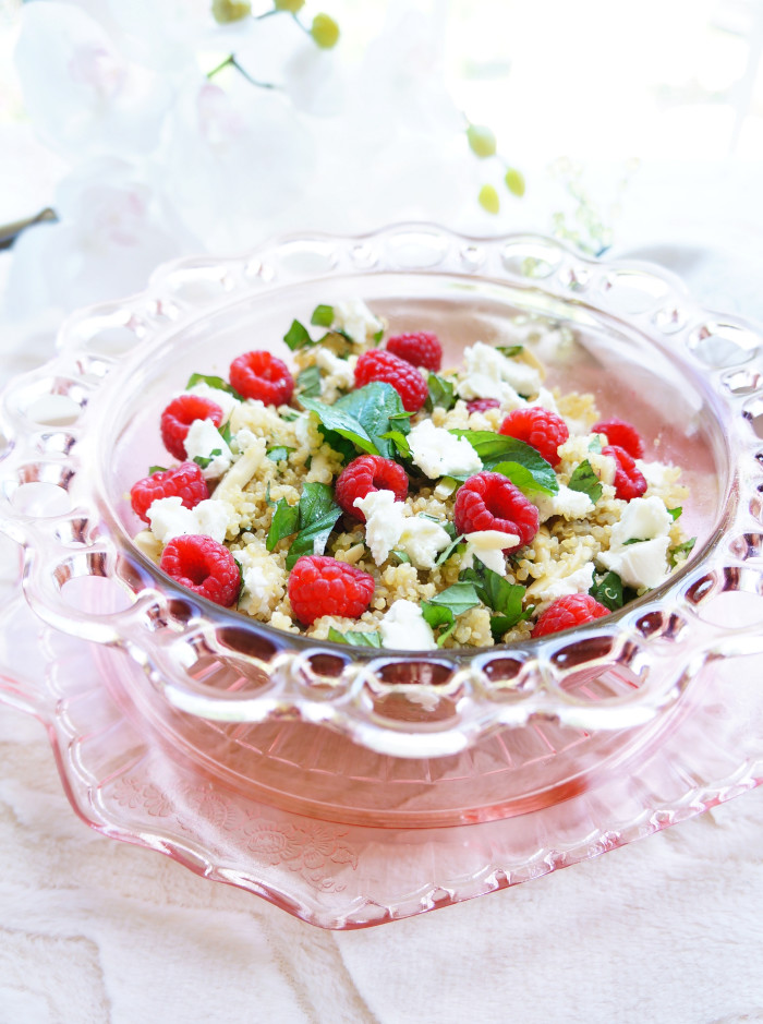 Raspberry Quinoa Salad 3