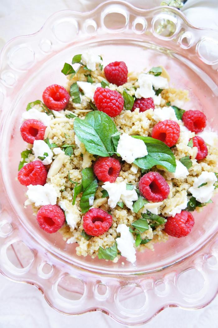 Raspberry Quinoa Salad 4