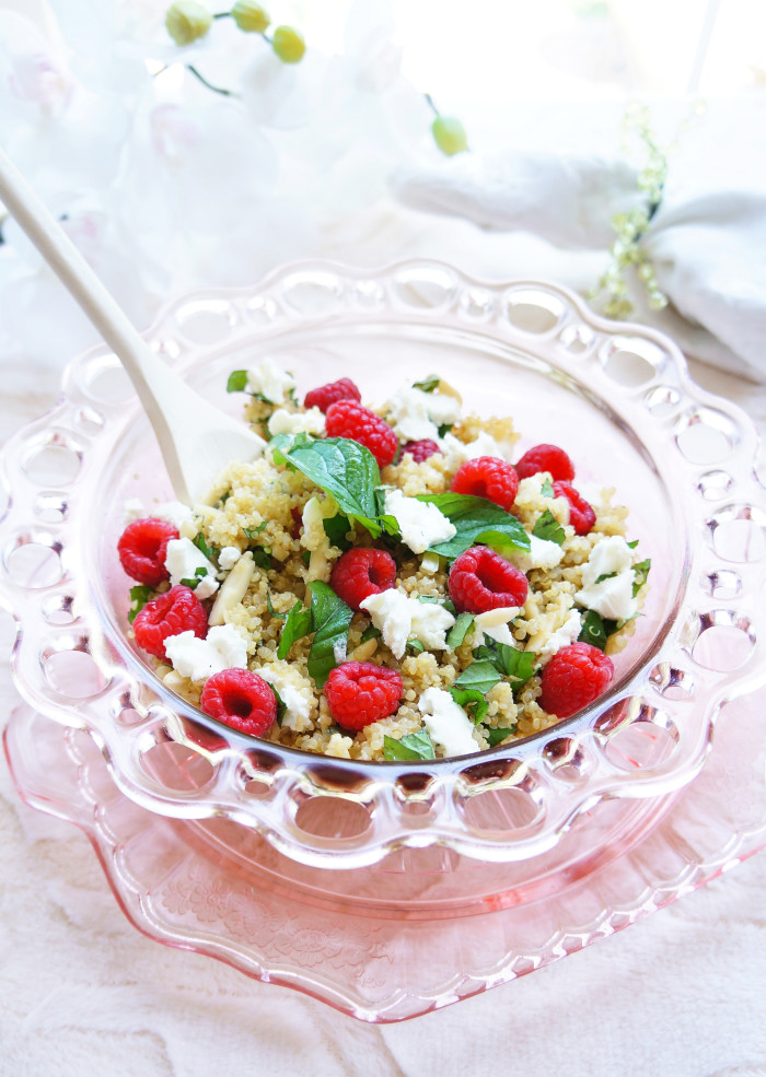 Raspberry Quinoa Salad 6