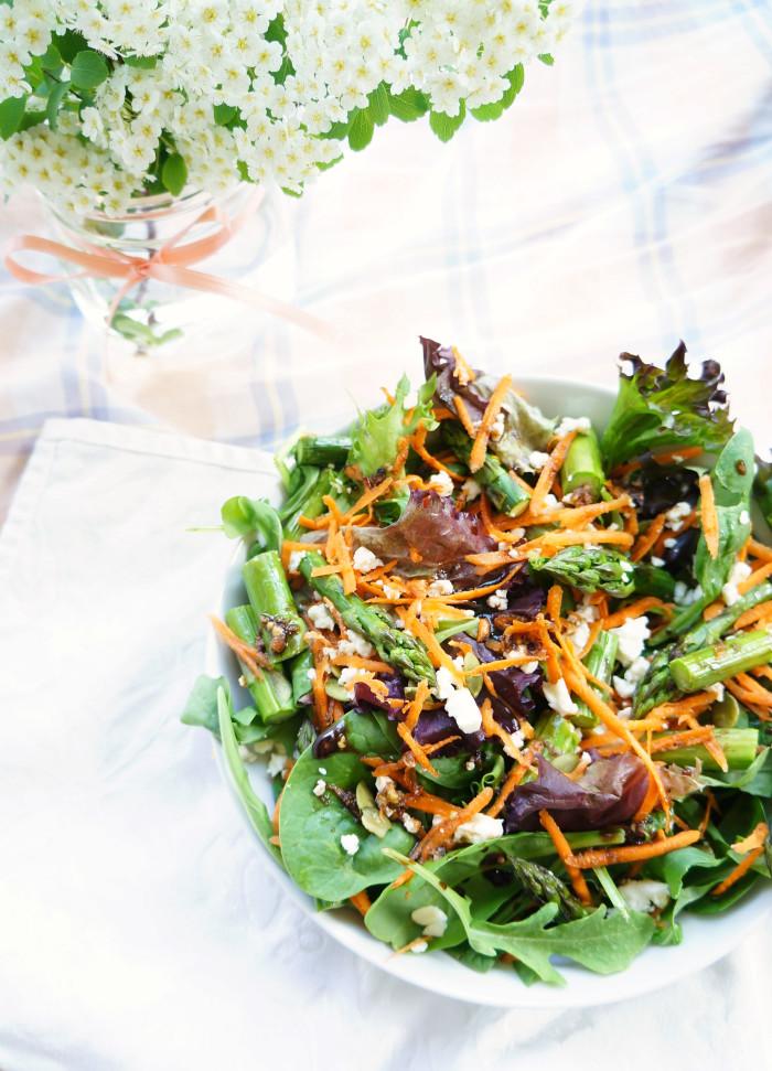 Spring Asparagus Salad 3