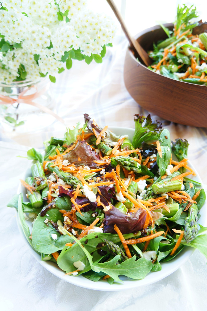 Spring Asparagus Salad 4