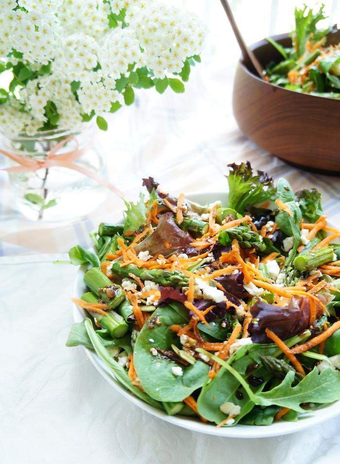 Spring Asparagus Salad 5