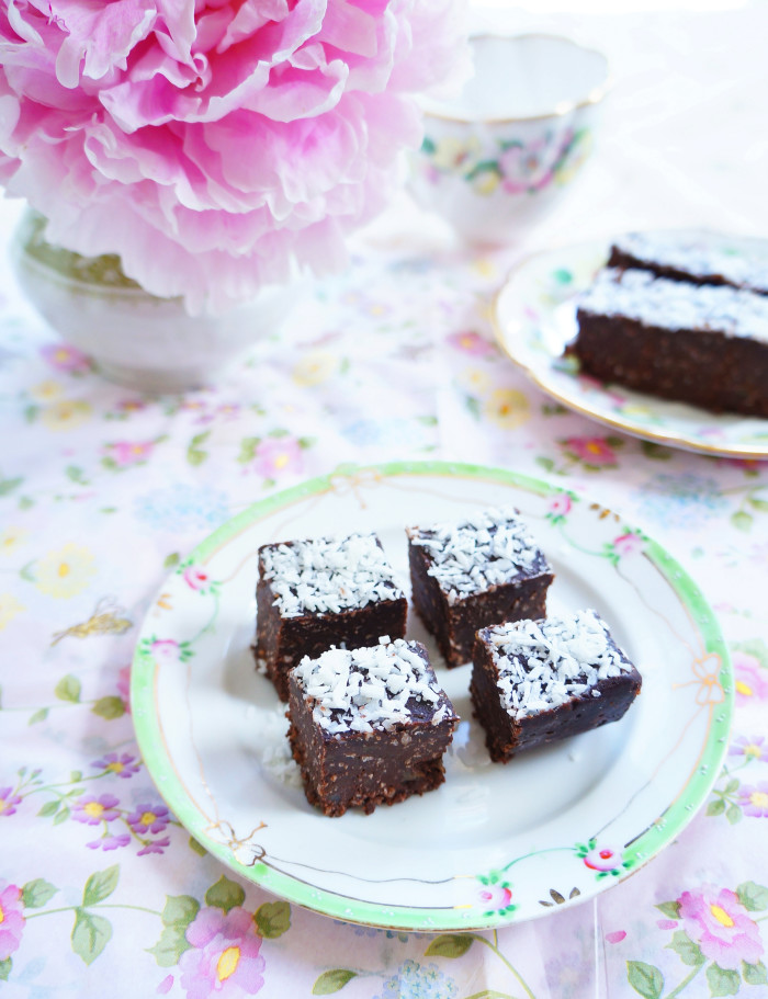 Chocolate Coconut Fudge 1