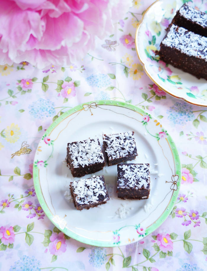 Chocolate Coconut Fudge 4