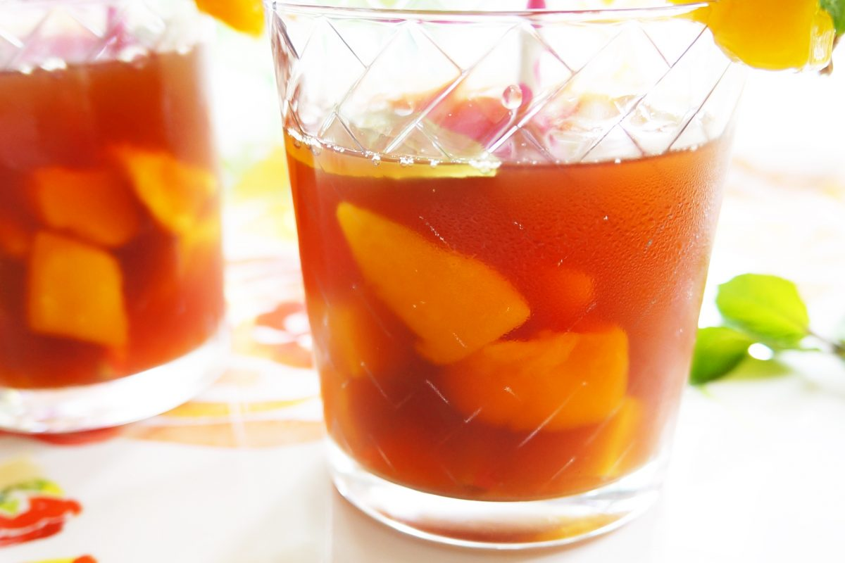 Mango Mint Iced Tea