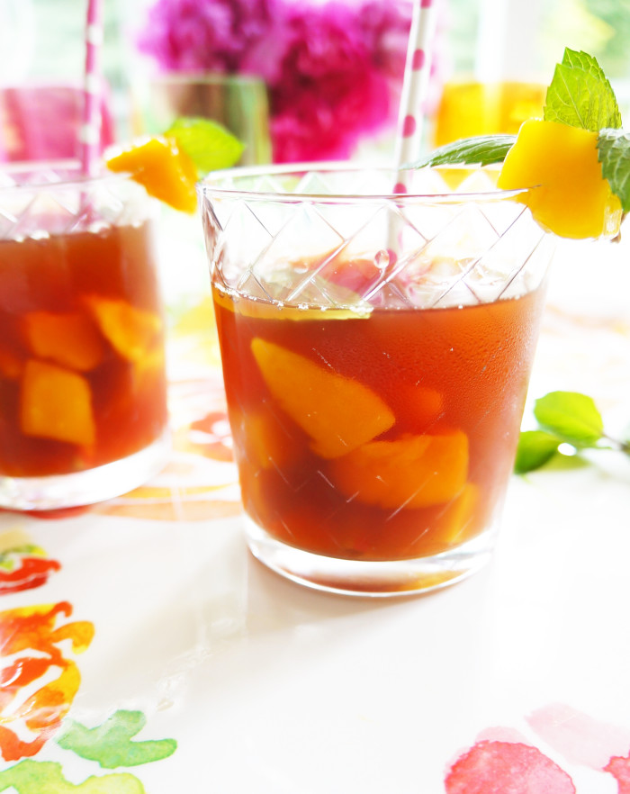 Mango Mint Iced Tea 1