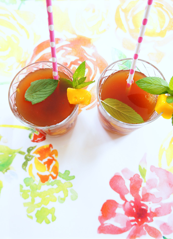 Mango Mint Iced Tea 3