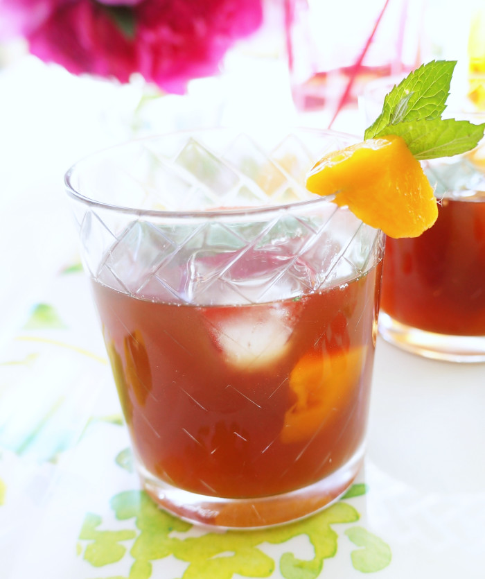 Mango Mint Iced Tea 5