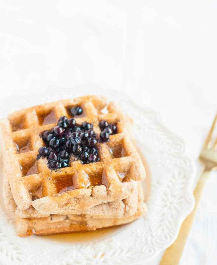 Gluten-free Plant-based Waffles
