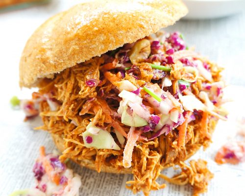Pulled BBQ Chicken Sandwich