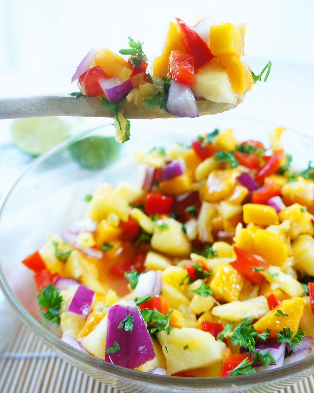 healthy fruit salsa heart healthy fruits