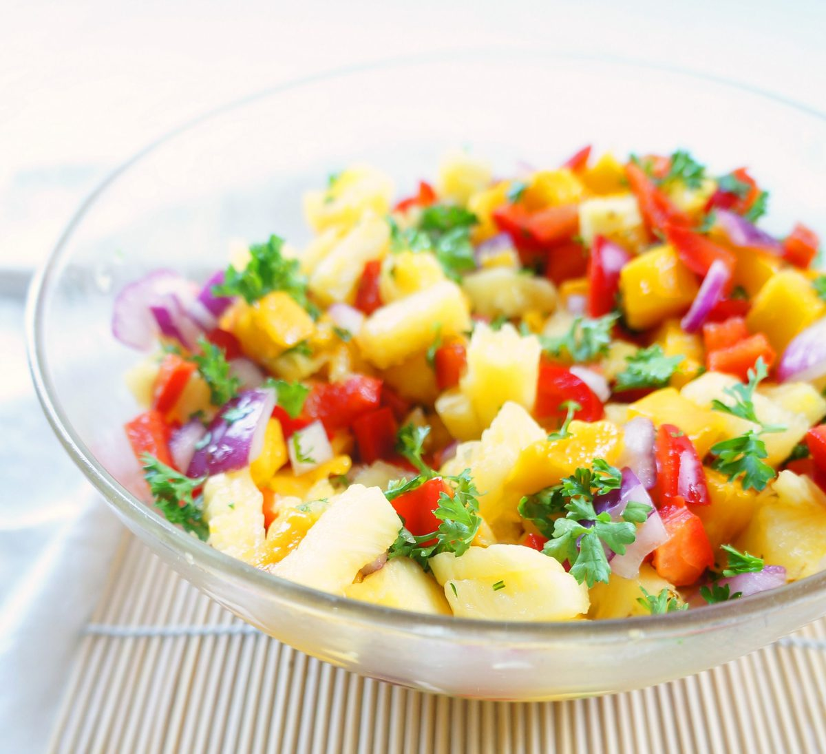 tropical fruit salsa for fish