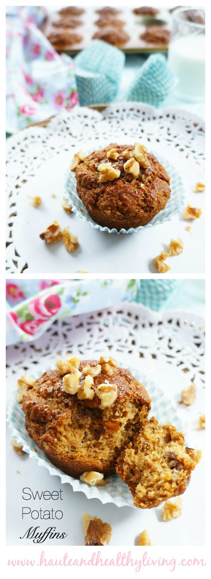 Sweet Potato Muffins | Haute & Healthy Living
