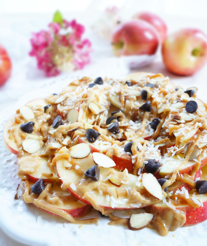 Apple Nachos | Haute & Healthy Living