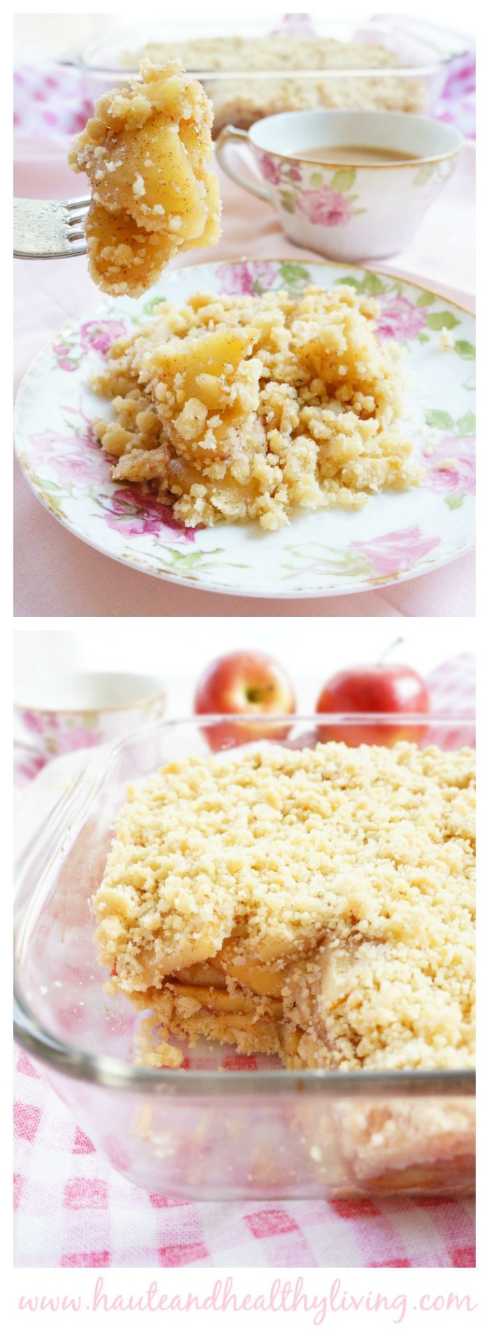 No-Bake Apple Crumble | Haute & Healthy Living