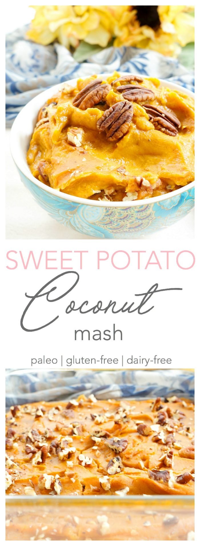 Sweet Potato Coconut Mash