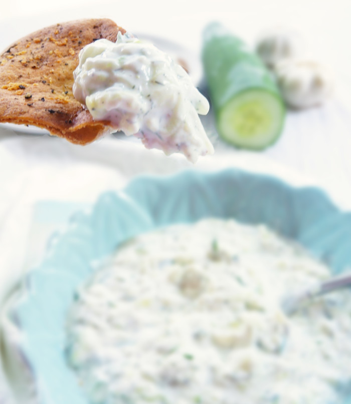Thick & Creamy Tzatziki | Haute & Healthy Living