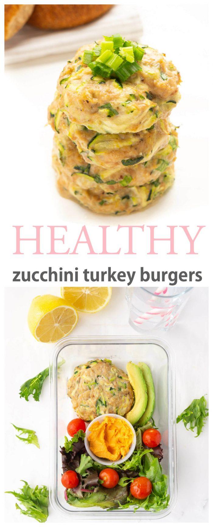 Zesty Zucchini Turkey Burgers