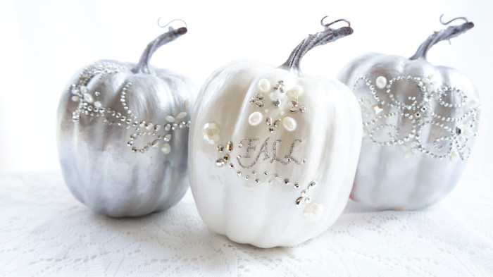 Glam Pumpkins | Haute & Healthy Living