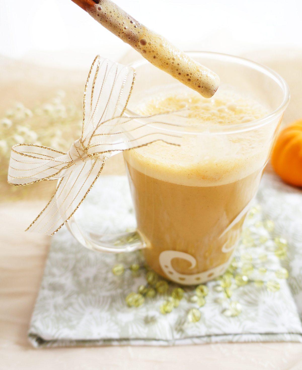 Haute  Healthy Living Maple Pumpkin Spice Latte Haute  Healthy