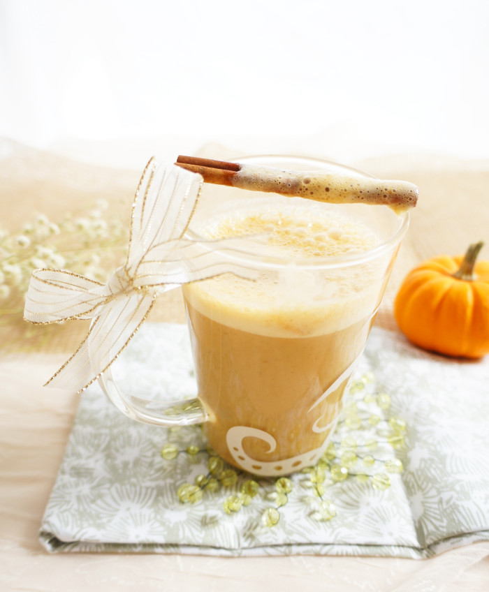 Maple Pumpkin Spice Latte | Haute & Healthy Living