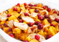 Squash, Apple & Cranberry Bake