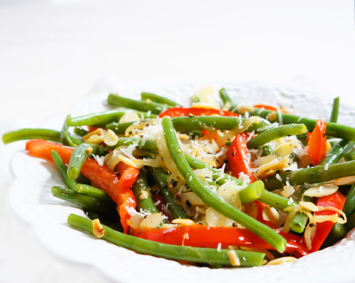 Red & Green Vegetable Saute | Haute & Healthy Living