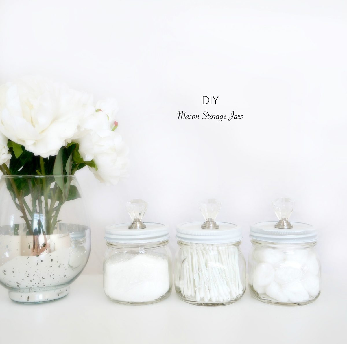 Design Ideas Bathroom Mason Jars ~ Haute healthy living diy mason storage jars