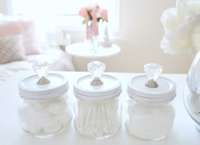 DIY Mason Storage Jars