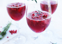 Spiced Pomegranate Sparkler