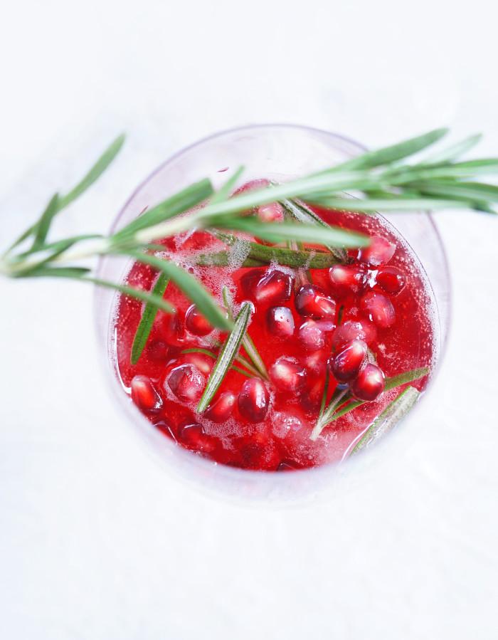 Spiced Pomegranate Sparkler