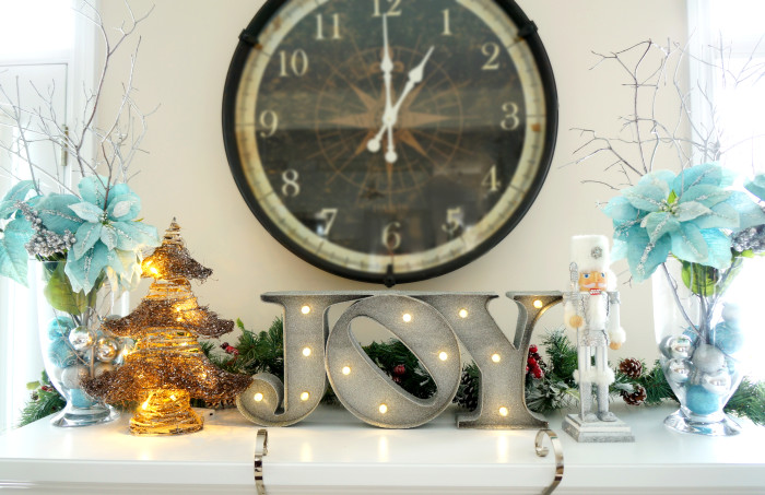 Christmas Living Room Makeover | Haute & Healthy Living