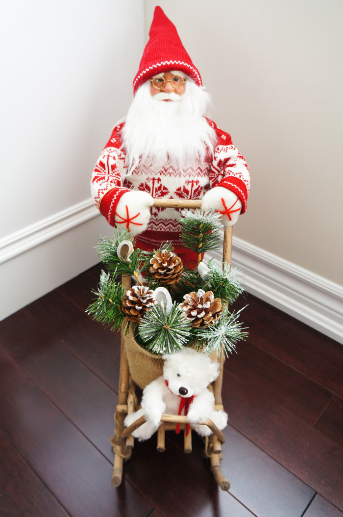 Christmas Living Room Makeover   Haute & Healthy Living