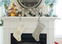 Christmas Living Room Makeover