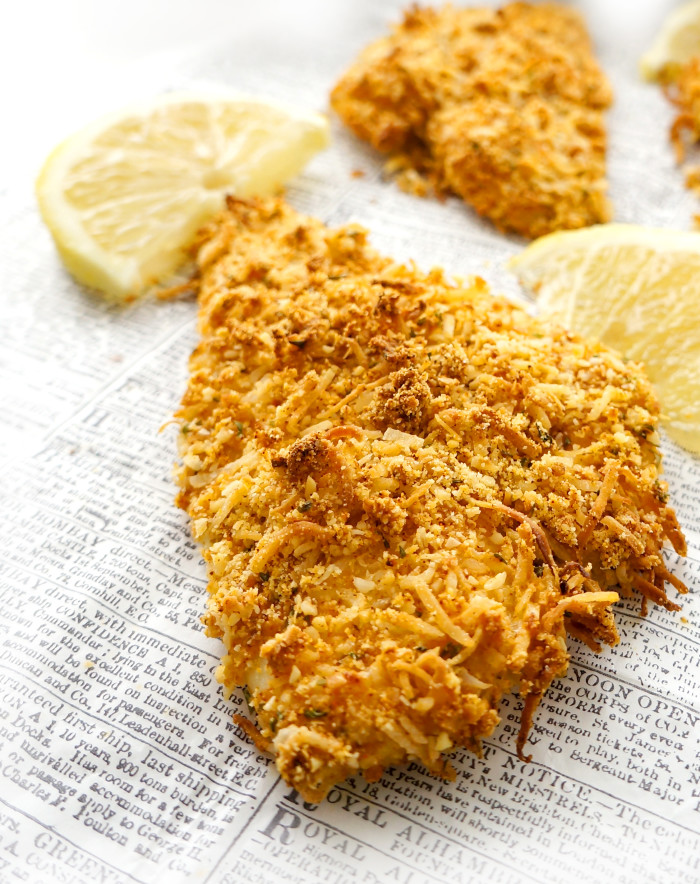 Almond & Coconut Crusted Fish Sticks | Haute & Healthy Living