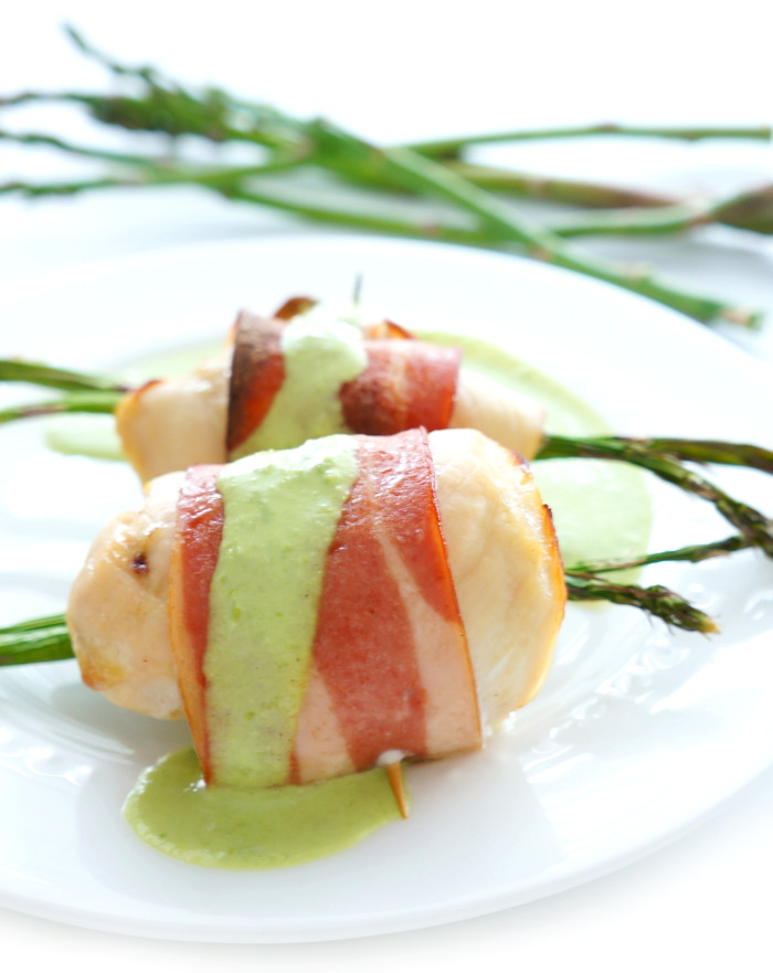 Chicken Asparagus Rolls | Haute & Healthy Living