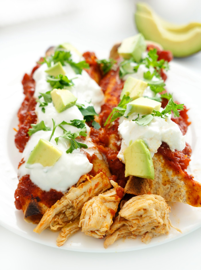 Chicken Enchiladas | Haute & Healthy Living