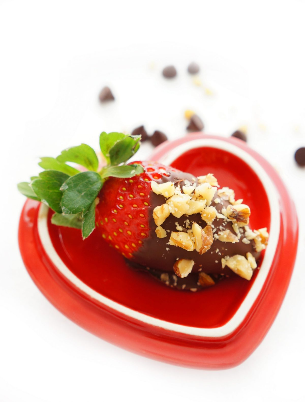 Haute & Healthy Living Dark Chocolate Dipped Strawberries with ...