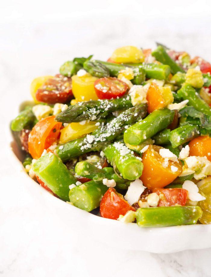 Asparagus & Tomato Salad