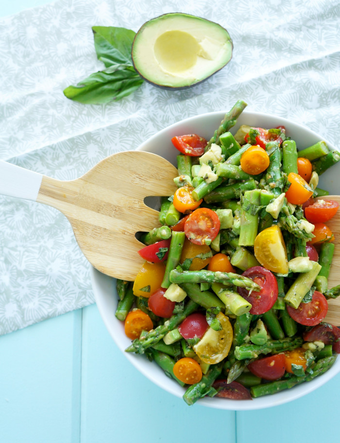 Asparagus & Tomato Salad | Haute & Healthy Living