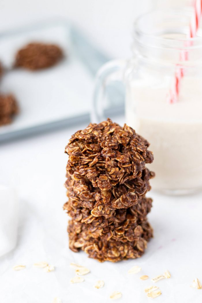 No-Bake Flourless Chocolate Cookies