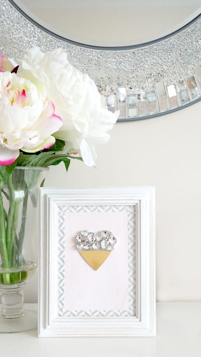 DIY Heart Card Print
