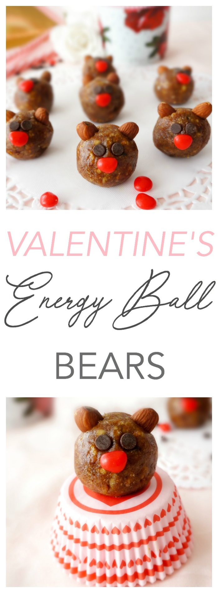 Valentine's Energy Ball Bears