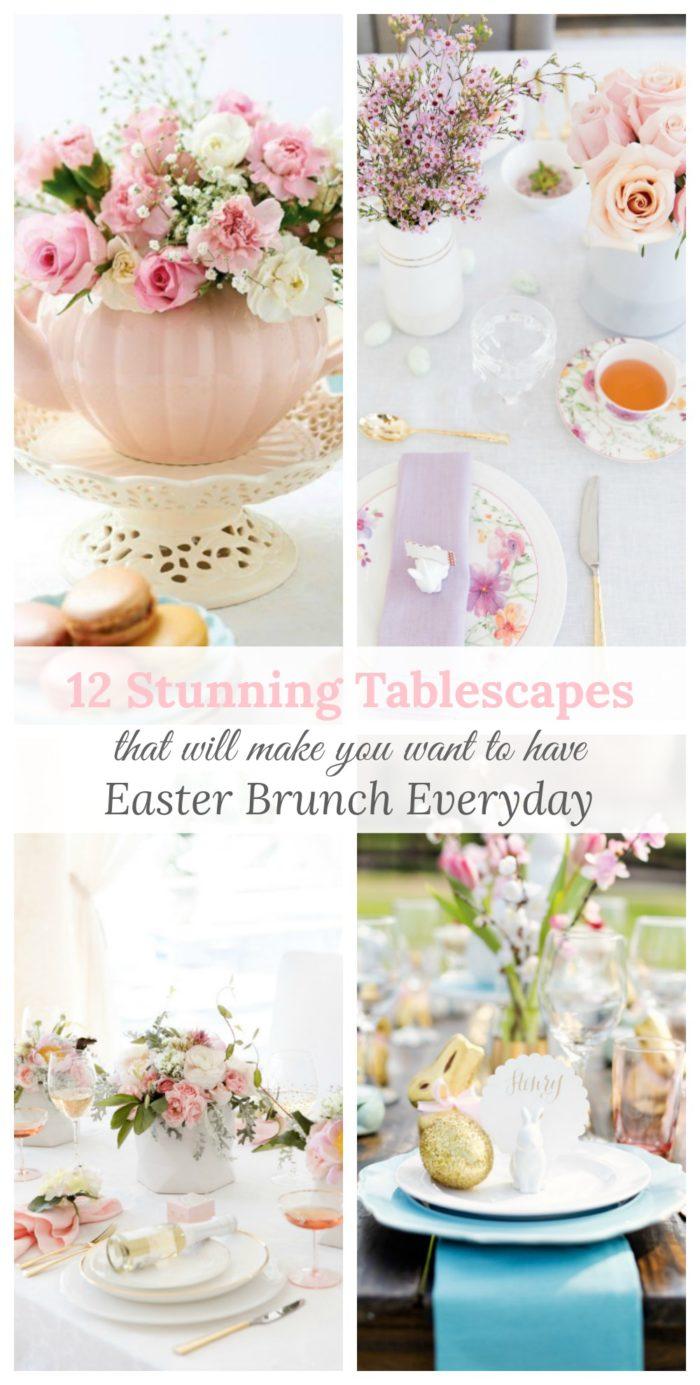 Stunning Easter Table Decor Inspiration